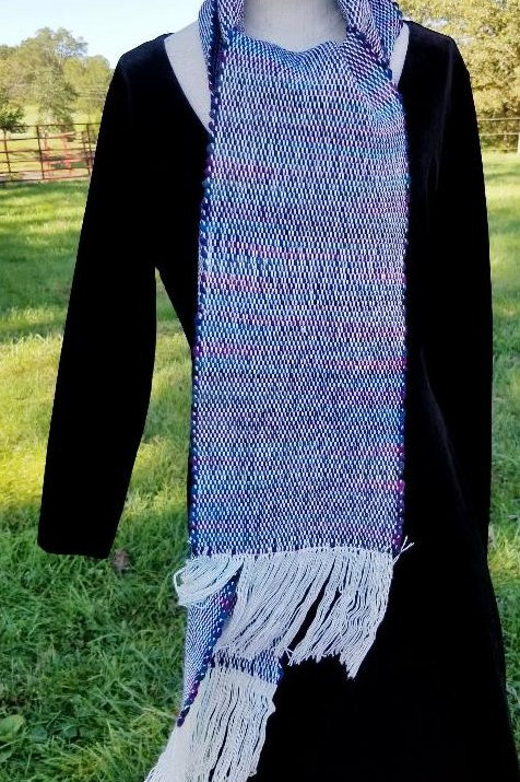 Wool and Bamboo Scarf