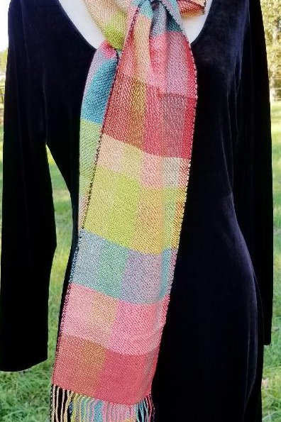 Color Blocks Scarf