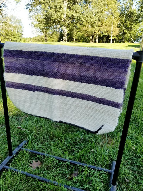 Purple Alpaca Rug