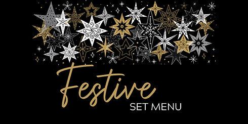 Festive set menu 2020