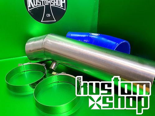 FG-FGX Intake muffler delete kit (brushed stainless)