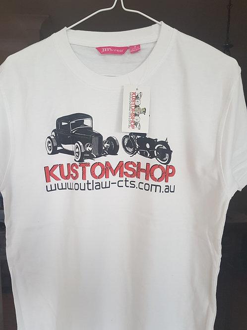 Kustomshop T-shirt (womens)
