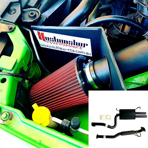 Ba-bf xr6 ute sports exhaust and cold air induction kit (supply only)