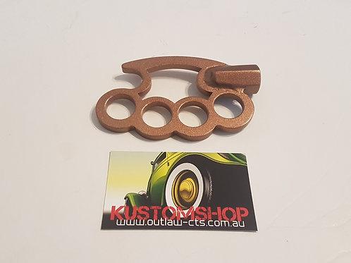Brass knuckle shifter.