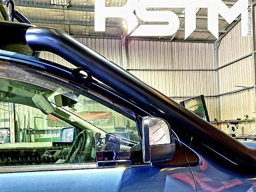 Mazda BT50 stainless snorkel (black).