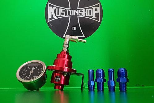 Kustomshop high pressure fuel regulator - 160 psi.