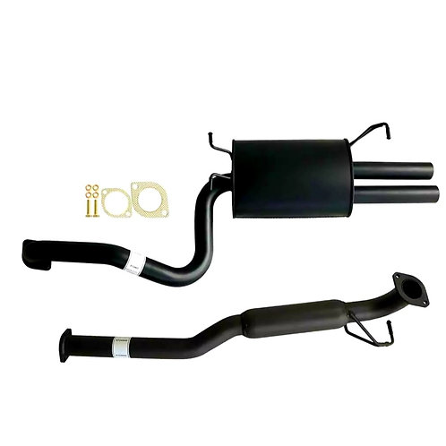 BA-BF xr6 sedan Cat back sports exhaust, muffler hotdog (fitted)