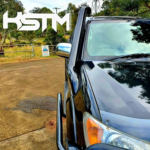 Toyota Hilux 05-14  stainless snorkel (revolver edition)