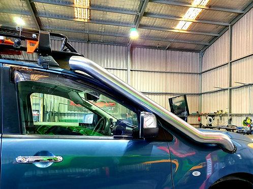 Mazda BT50 stainless snorkel.