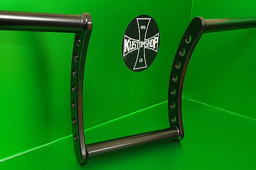 "Kustomshops ""the bandit""  10"" handlebars. 1"" tube diam."