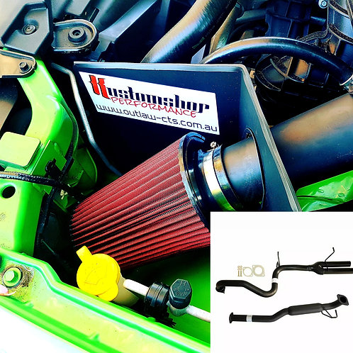 Ba-bf xr6 sedan sports exhaust and cold air induction kit (fitted)