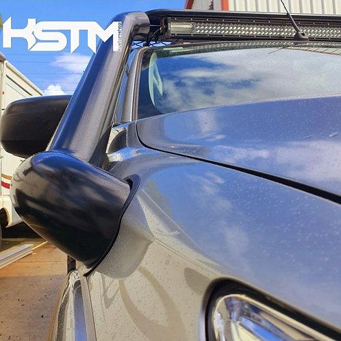 Mitsubishi Triton MQ stainless snorkel (revolver edition)