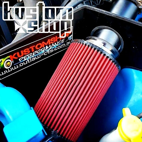 FORD BF XR6 TURBO COLD AIR INDUCTION KIT/POD FILTER. 3 INCH/75MM