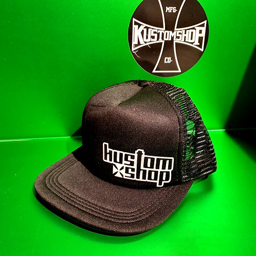 Kustomshop trucker cap.