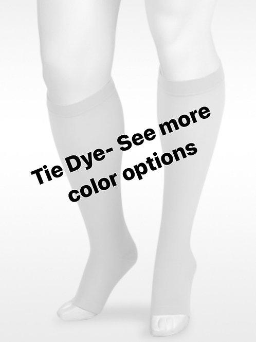Juzo Soft Tie Dye Knee High Socks-  20-30mmHg or 30-40mmHg
