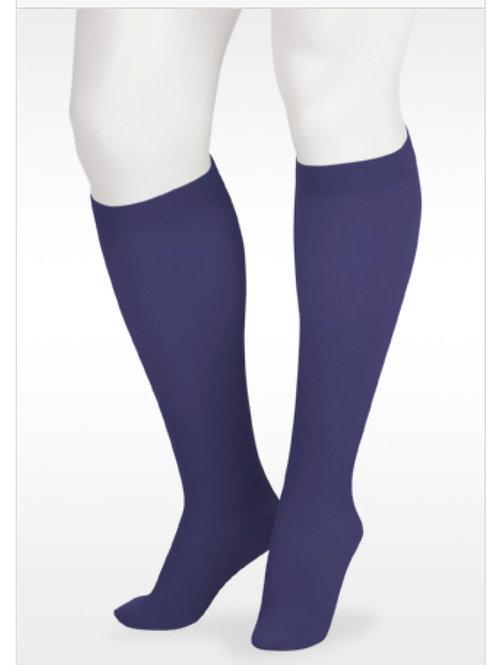 Juzo Soft 15-20mmHg Knee High Socks- Navy