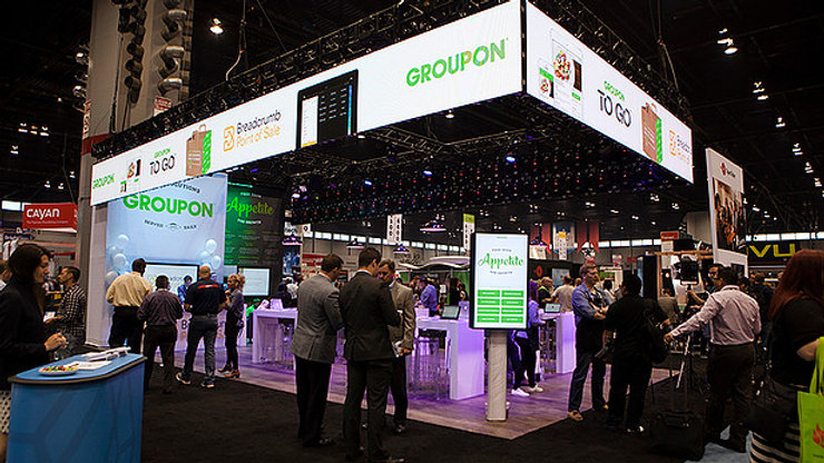 Groupon Booth @ National Restaurant Association Tradeshow