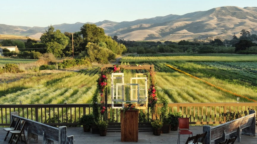 Outdoor Wedding Ceremony @ Santa Ynez, CA