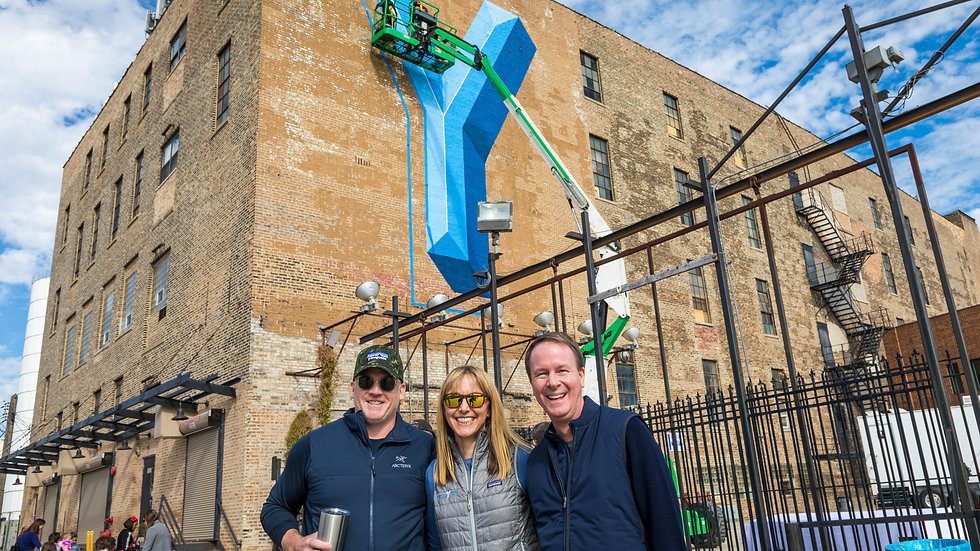 Sterling Bay Lincoln Yards Mural Unveiling