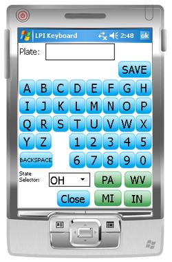 Plate Input
