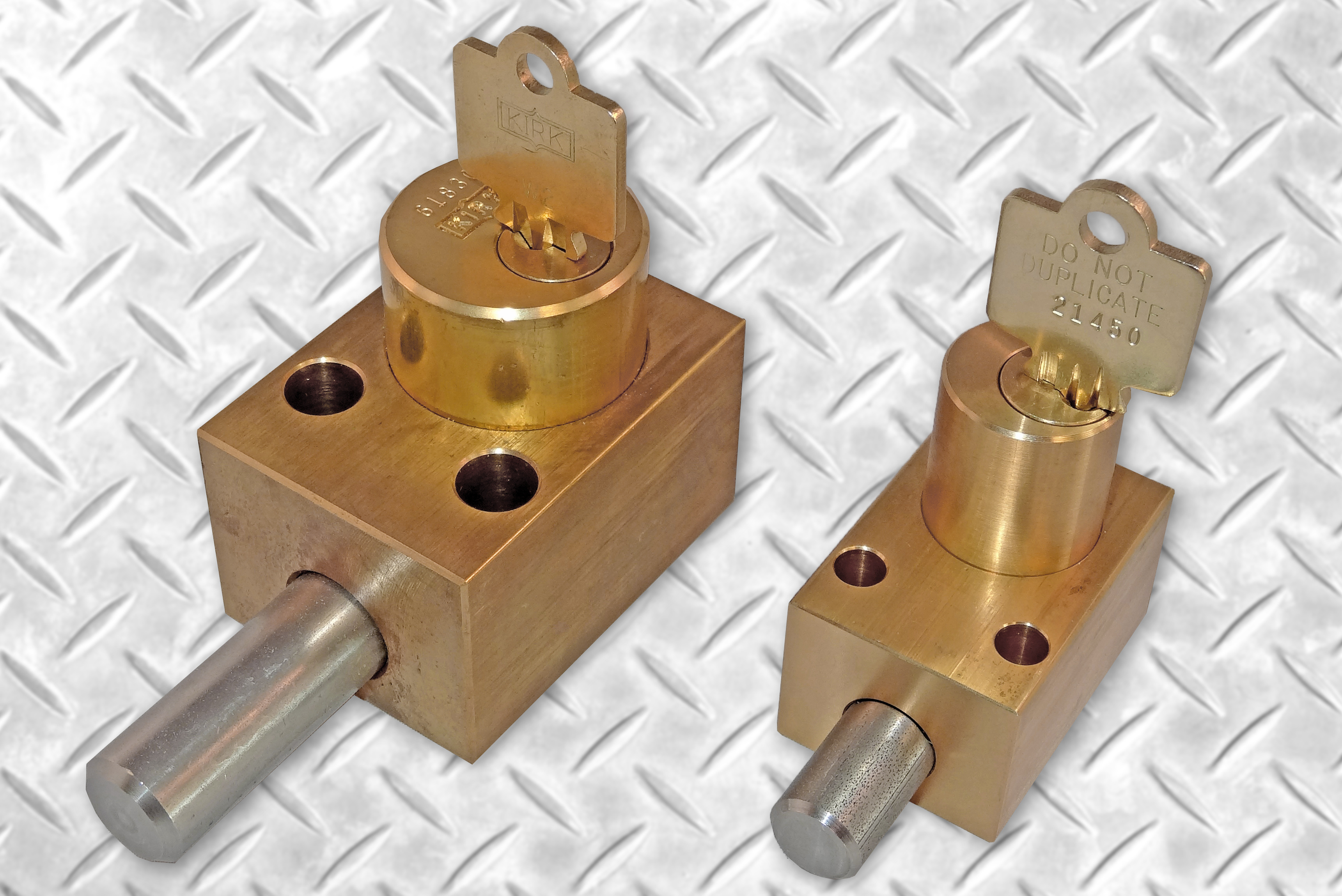 Kirk Key Interlock Safeguards Small Circuit Breakers
