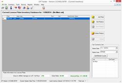 Main Inventory Screen