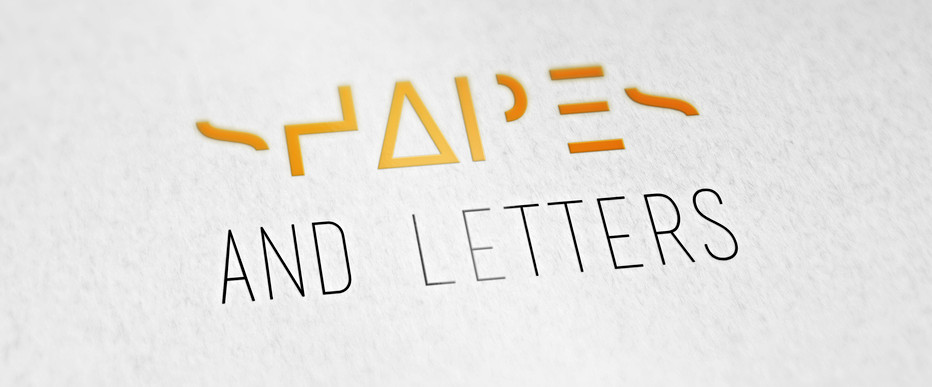 SHAPES AND LETTERS [coming soon]