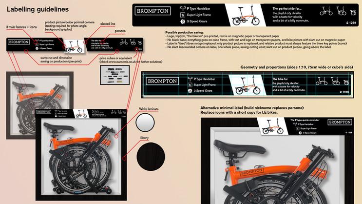Study and mockup for new bike display