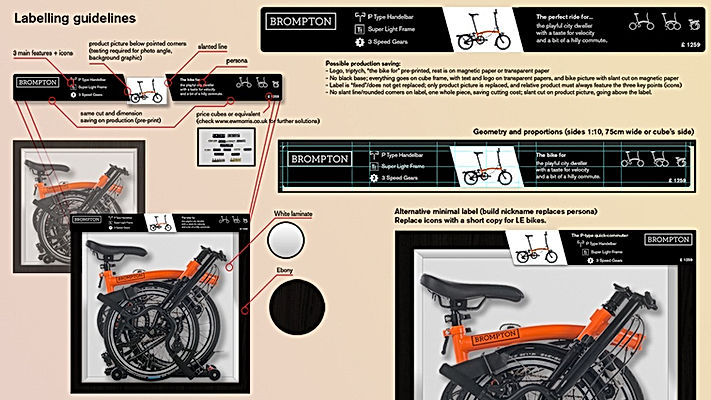 Bike labelling preview