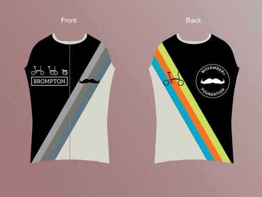 Racing shirt BROMPTON X MOVEMBER