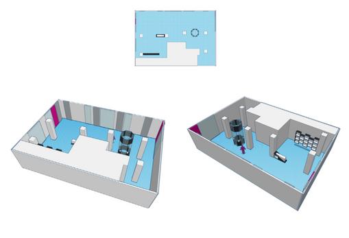 Store 3D model from planimetry