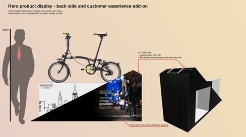 Hero bike display features