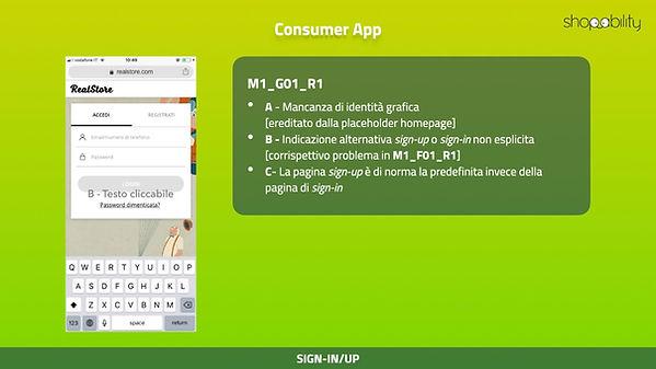 Shoppability review Screen detail