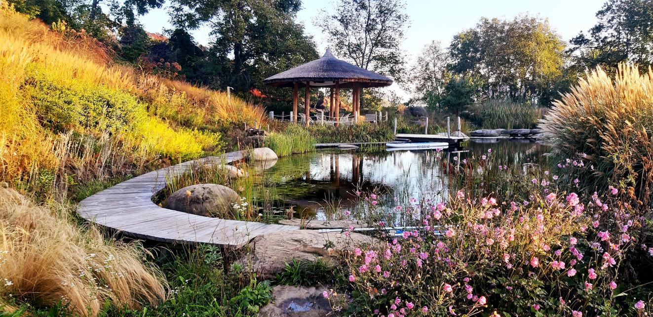 Ruhe und Entspannung im Garten der Stille im Burgenland