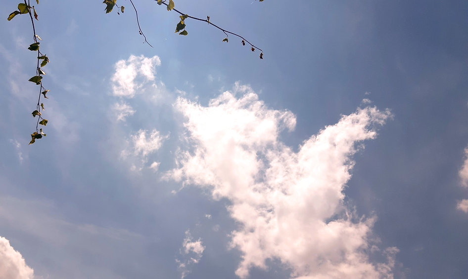 Wolken am Himmel - Loslassen