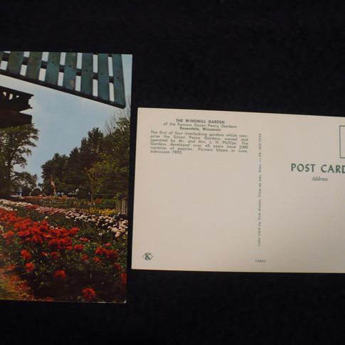 """The Windmill Garden"" Original Post Cards"