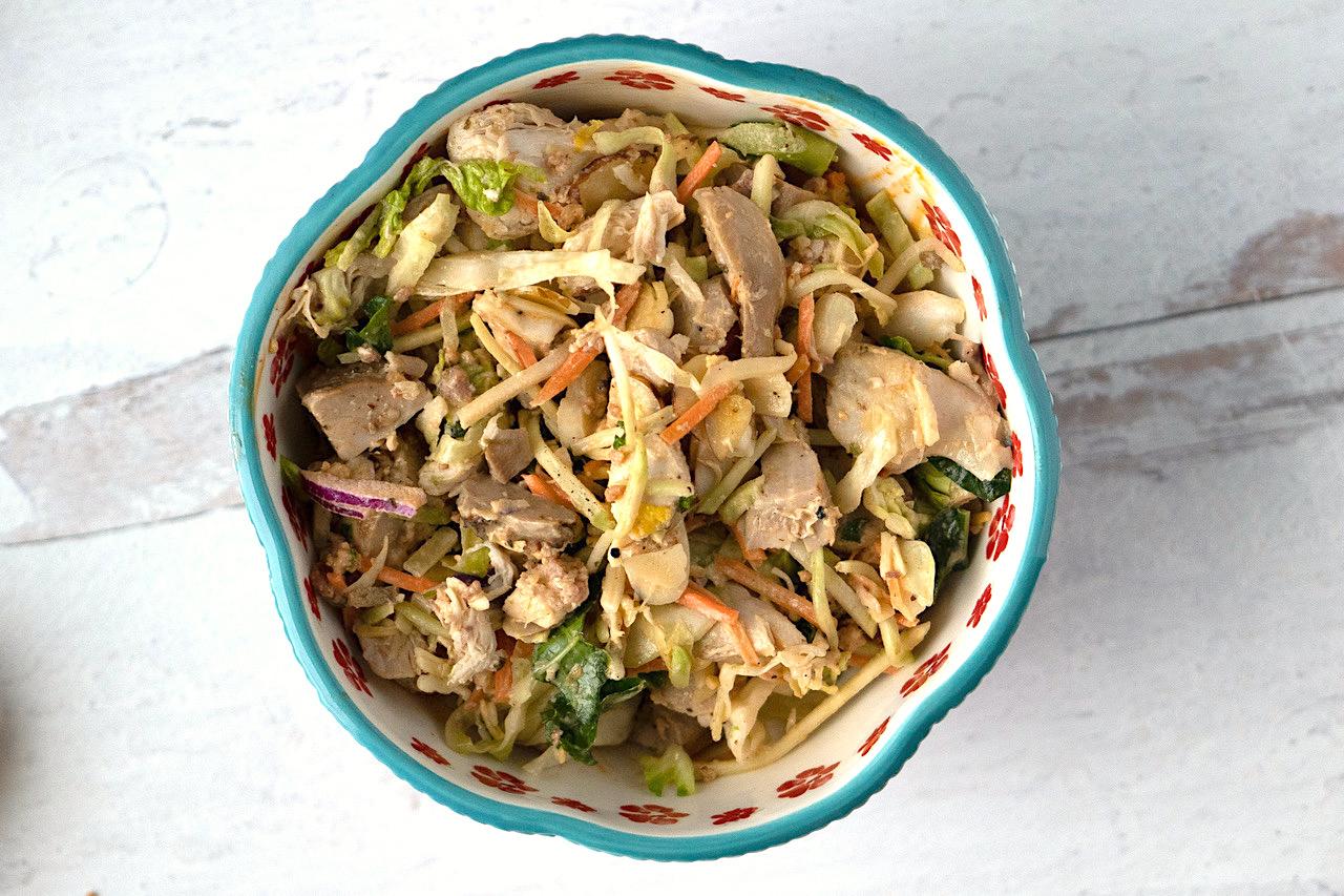 Chicken Chipotle Bacon Salad