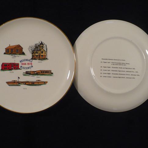 Rosendale School Plates