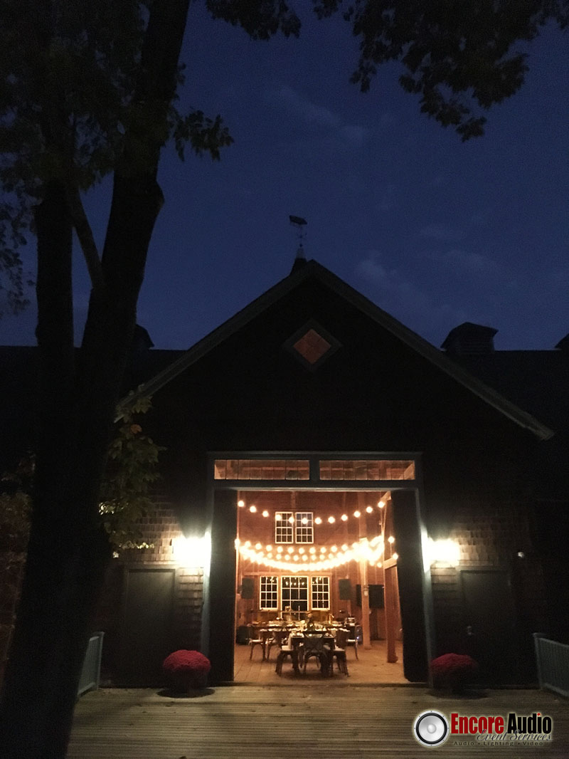 Bistro Lighting in the Berkshires