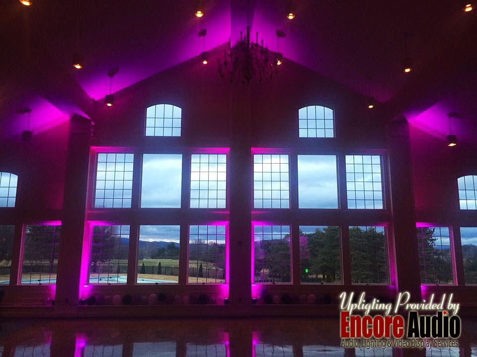 Western MA Wedding Lighting Rentals