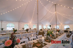 Encore Audio Tent Lighting Services