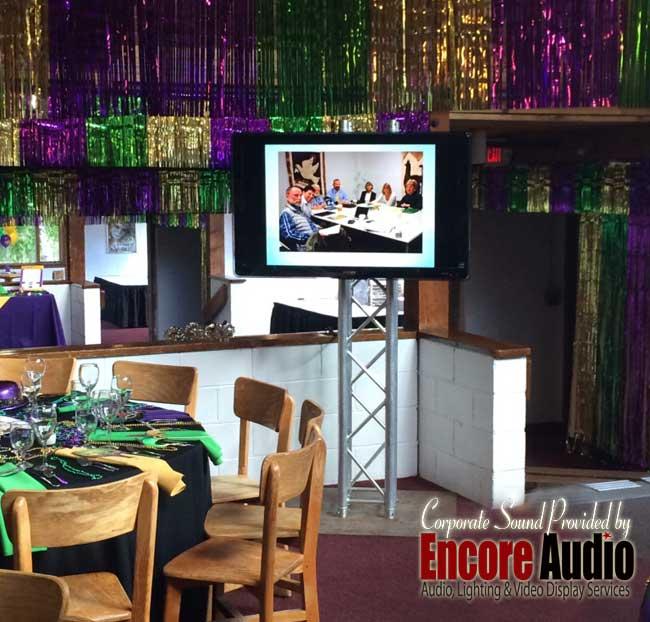 Western MA video display rental