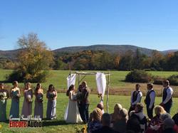 Wedding Sound in the Berkshires