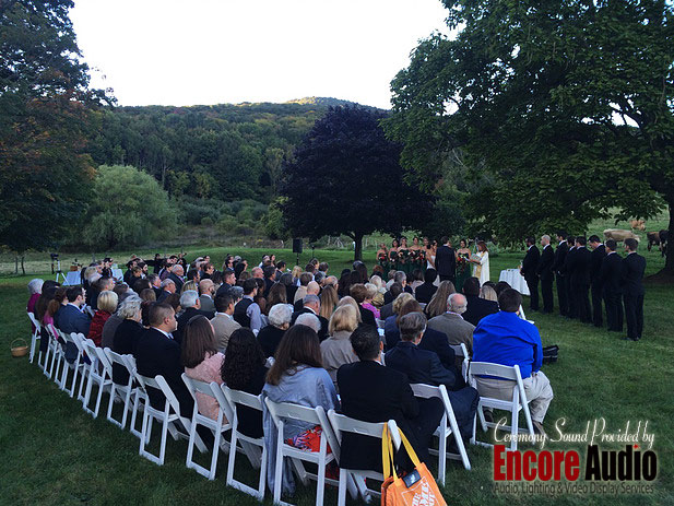 Wedding PA Rentals in the Berkshires