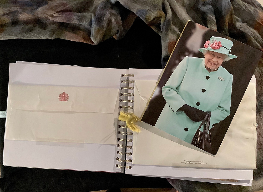 Queen's of England Invitation card