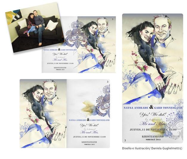 Wedding digital card