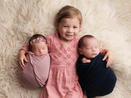Schipper Twins Newborn - Douglas, MI