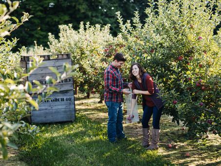 Surprise Proposal - Crane Orchards Fennville, MI