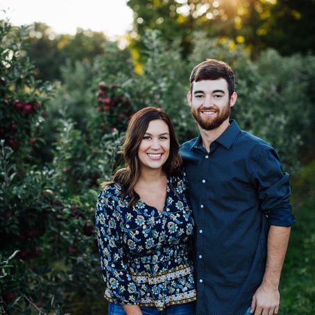 Allie & Ryan Sweethearts - Crane Orchards, Fennville MI