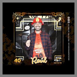 RAUL 40 CUMPLEAÑOS